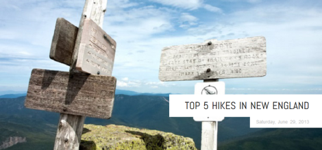 Top 5 Hikes in New England
